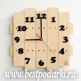 Деревянные настенные часы  - Free-Shipping-Low-price-High-Quality-Pastoral-style-Manual-Wooden-wall-clock-Mute-clocks.jpg